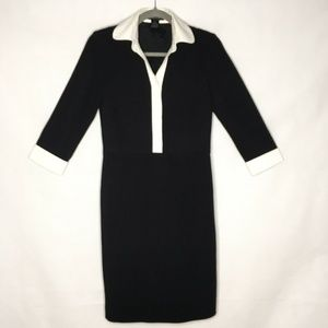 INC International Concepts Sheath Dress B&W